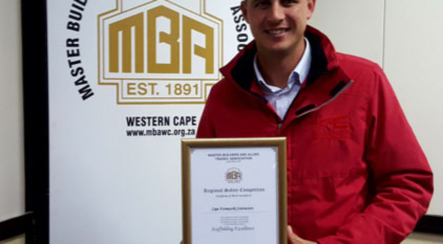 MBA Award for Scaffolding Excellence